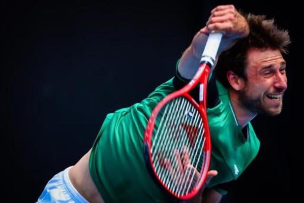 Open d'Australie - Sander Gillé éliminé en quarts de finale