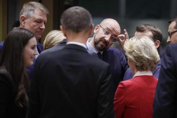 De Europese top over de meerjarenbegroting eindigt zonder akkoord