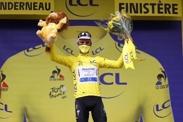 Tour de France - Julian Alaphilippe remporte la première étape et retrouve le maillot jaune
