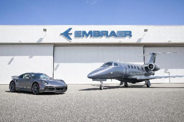 Porsche en Embraer starten exclusieve samenwerking