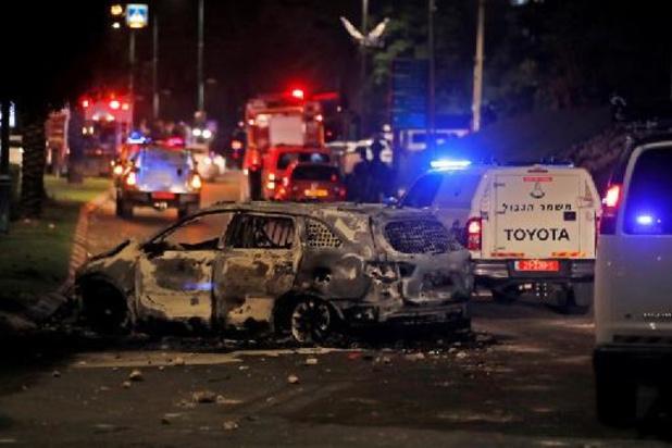 Onrust Midden-Oosten - Synagoge in brand gestoken bij rellen in de buurt van Tel Aviv
