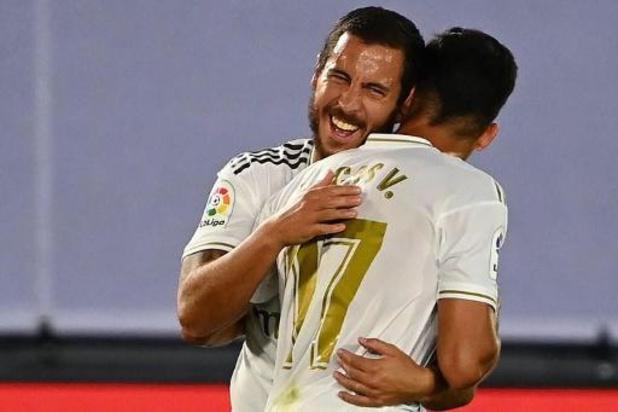 Eden Hazard klaar voor titelmatch tegen Villarreal