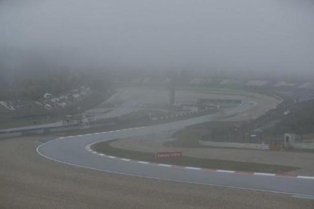 Le brouillard sur le Nürburgring empêche le déroulement des premiers essais libres