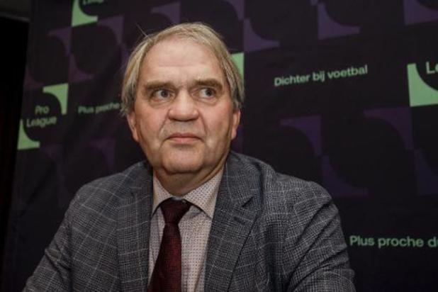 Pro League wil contract van CEO Pierre François één jaar verlengen
