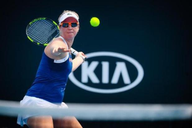 Ysaline Bonaventure strandt in tweede voorronde Australian Open