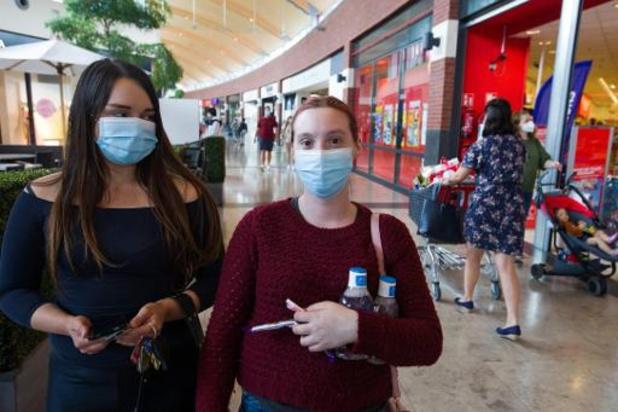 99,7 nouvelles infections journalières en moyenne, soit une hausse de 12%