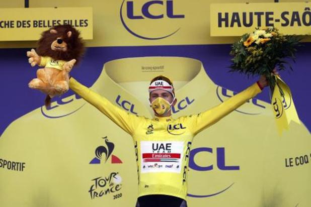 """Tour de France - Nieuwe Tourwinnaar Pogacar denkt dat hij droomt: """"Ik ben sprakeloos"""""""