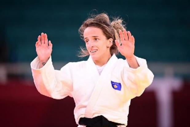 Première médaille d'or en judo pour la Kosovare Distria Krasniqi, sacrée en -48 kg