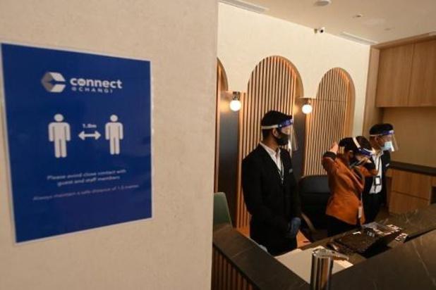 Singapour: un hôtel sécurisé contre le Covid pour les voyageurs d'affaires