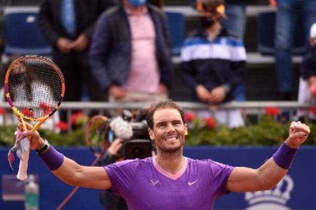 ATP Barcelone - Rafael Nadal écarte Carreno-Busta et défiera Tsitsipas en finale pour un douzième sacre