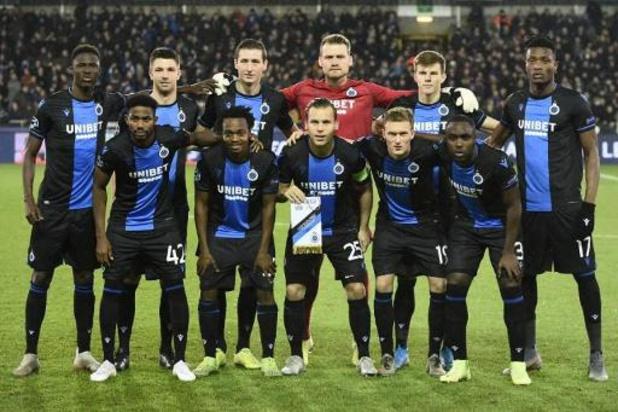 Le Club Bruges peut fêter son 16e titre national après une saison écourtée mais dominée