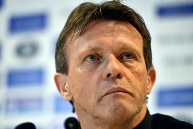 Vercauteren keert als hoofdcoach terug bij Anderlecht