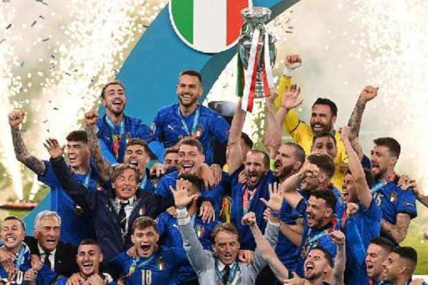 L'Italie et l'Argentine s'affronteront en juin, annoncent l'UEFA et la Conmebol