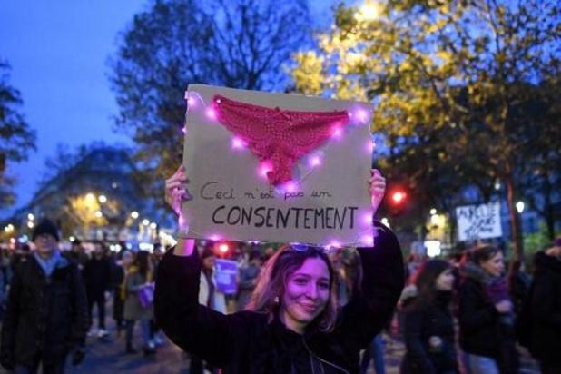 Violences faites aux femmes - 49.000 manifestants rassemblés à Paris
