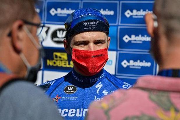 """Ronde van Denemarken - Evenepoel tankt zelfvertrouwen: """"Zag mezelf vandaag niet als de favoriet"""""""