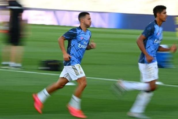 """Belgen in het buitenland - Zidane houdt Hazard achter de hand voor clash met City: """"Eden voelt zich goed"""""""