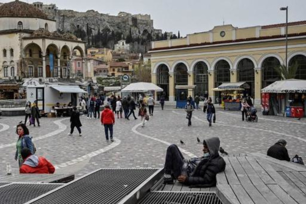 La Grèce lève la quarantaine pour les résidents de l'UE et de cinq autres pays