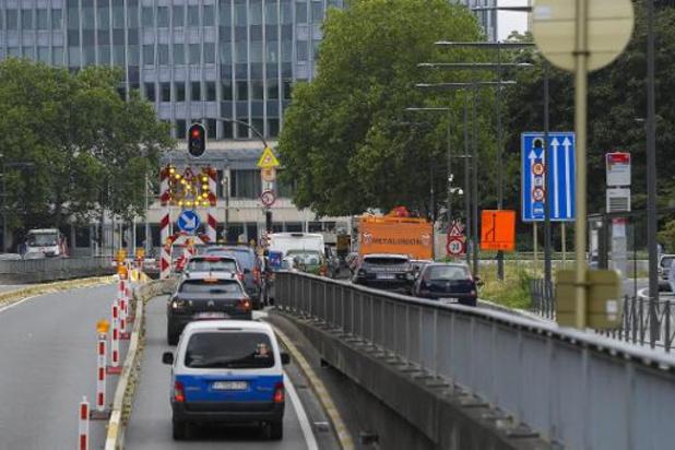 Rénovation des tunnels bruxellois: les tunnels Rogier et Botanique sont rouverts