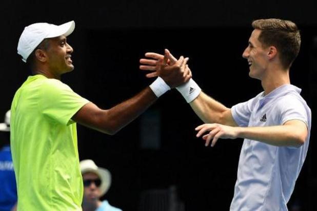 Australian Open - Rajeev Ram en Joe Salisbury winnen dubbelspel