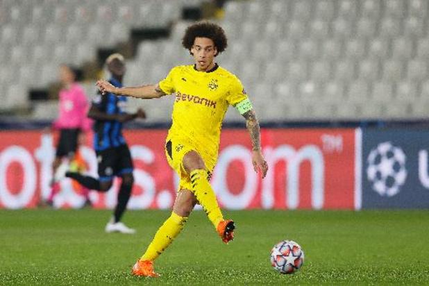 Belgen in het buitenland: Dortmund-coach verwacht Witsel dit seizoen niet meer terug in wedstrijdkern
