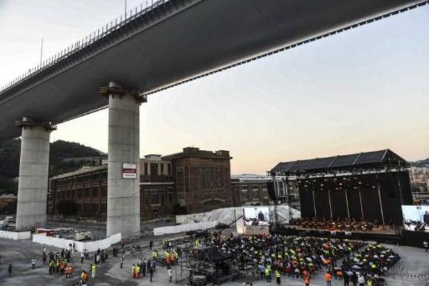 Italie: deux ans après l'effondrement meurtrier, Gênes a inauguré son nouveau pont