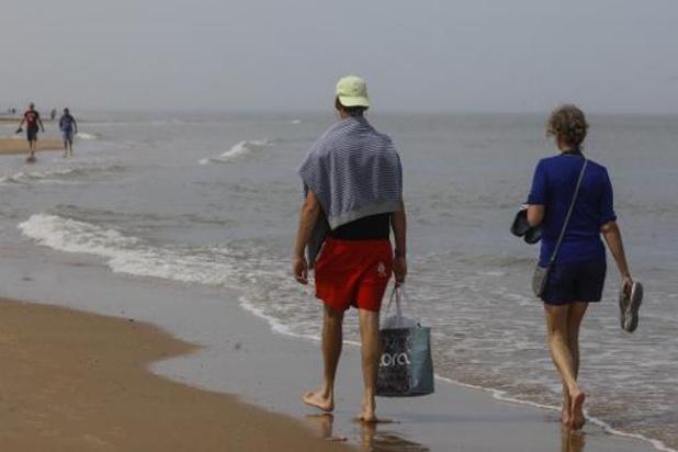 La baignade en Mer du Nord encore interdite jusqu'au 27 juin