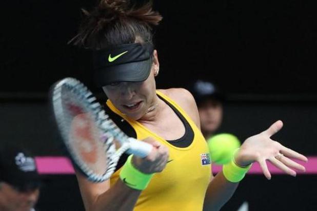 Fed Cup - Ajla Tomljanovic bat Pauline Parmentier et l'Australie égalise en finale contre la France