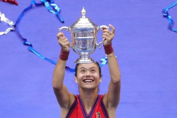 Emma Raducanu stijgt na titel op US Open 127 plaatsen naar nummer 23