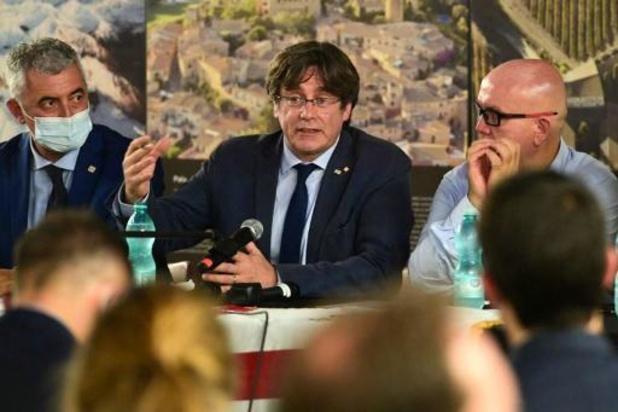 Carles Puigdemont opnieuw naar Sardinië gereisd voor hoorzitting