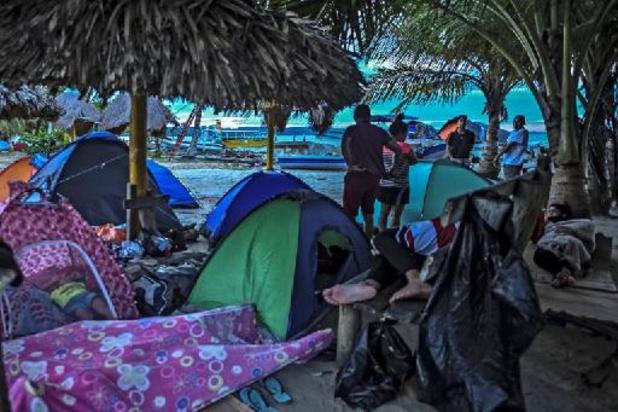 Bijna 19.000 migranten zitten vast op grens tussen Colombia en Panama