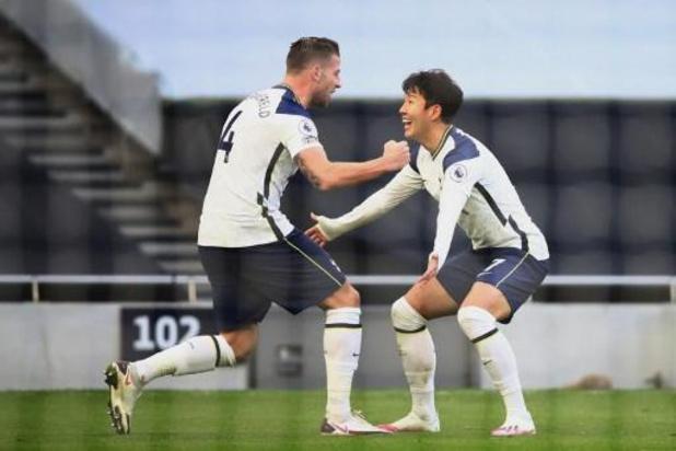 Premier but de la saison pour Alderweireld, large succès de Tottenham contre Leeds