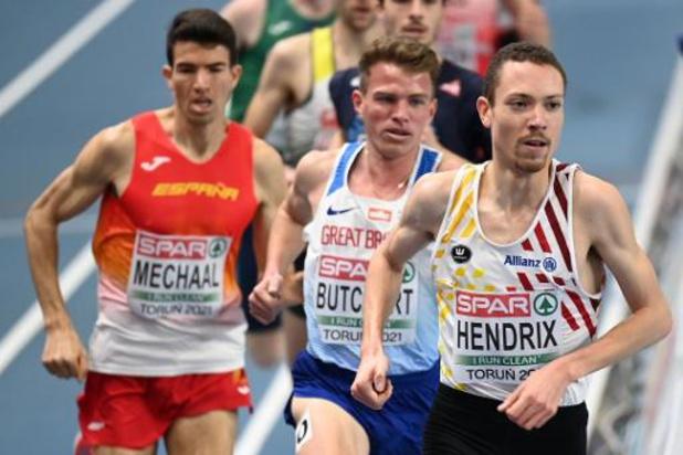 Isaac Kimeli et Robin Hendrix passent en finale du 3000 m, pas John Heymans