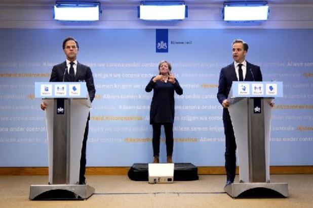 Le premier ministre néerlandais Rutte s'excuse pour les assouplissements rapides