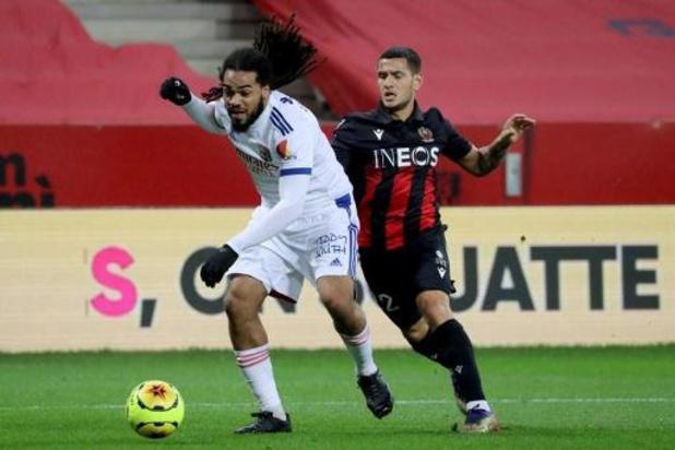 Les Belges à l'étranger - Jason Denayer et Lyon gagnent à Nice et prennent provisoirement la tête de la Ligue 1