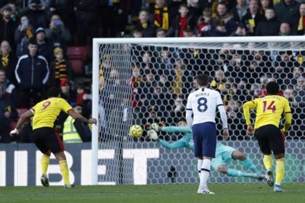 Tottenham kan ook tegen Watford niet winnen