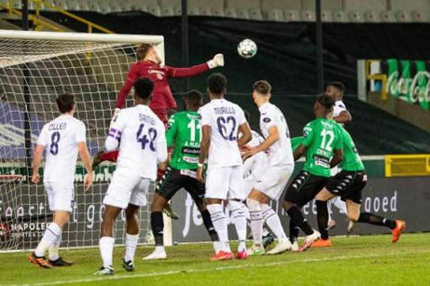 Jupiler Pro League - Anderlecht et le Cercle de Bruges se quittent dos à dos