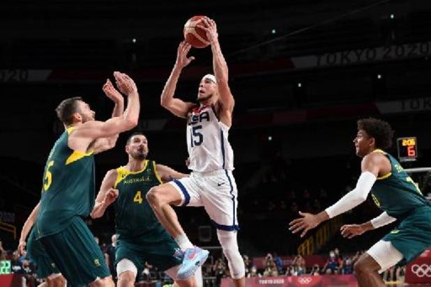 Basket: Les États-Unis écartent l'Australie et se qualifient pour leur 4e finale de rang