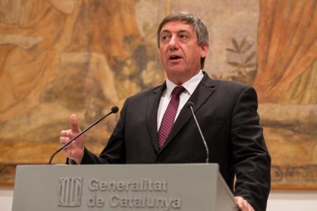 Jan Jambon appelle Charles Michel à intervenir en Catalogne