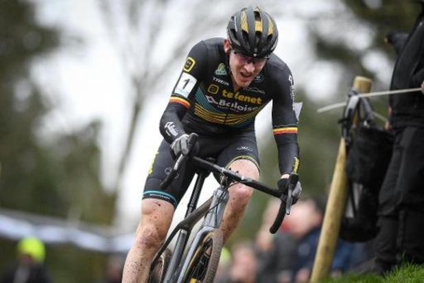 Toon Aerts gagne à Louvain