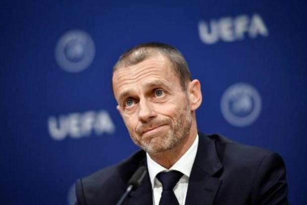 L'UEFA veut des éclaircissements avant le 25 mai sur la reprise des championnats nationaux