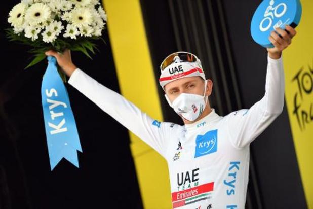 Tour de France - Pogacar zorgt voor een mirakel en rijdt Roglic alsnog uit het geel