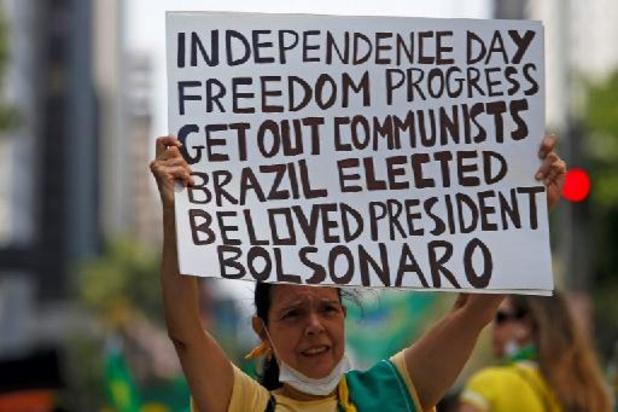 """Bolsonaro wil """"nieuwe geschiedenis van Brazilië schrijven"""""""