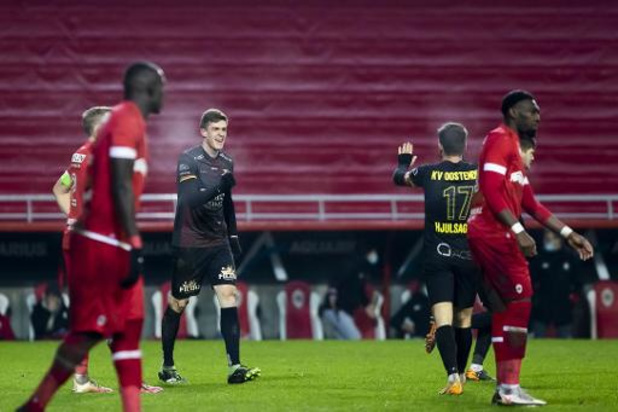 Jupiler Pro League - Ostende surprend l'Antwerp et réalise la bonne opération en haut de classement