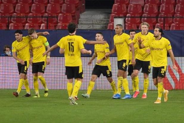 Ligue des Champions - Dortmund s'est imposé 2-3 à Séville et Porto a dominé la Juventus 2-1