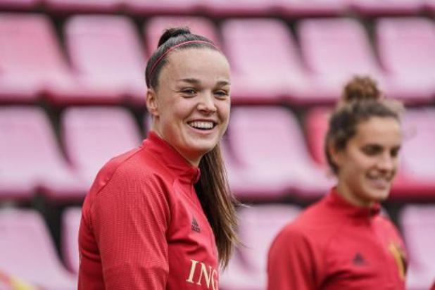 """""""Willen hoger spelen dan in Zwitserland"""", verzekert Tine De Caigny voor sleutelduel"""