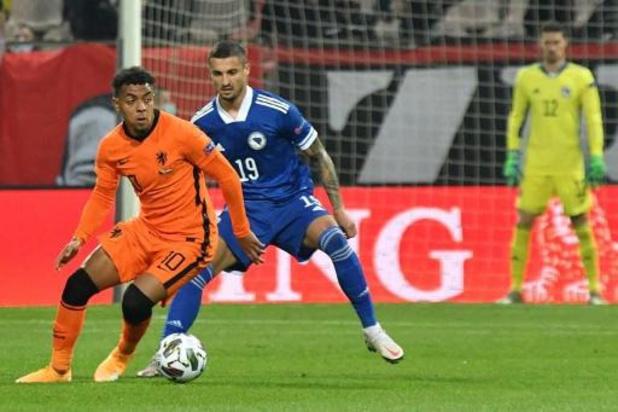 UEFA Nations League - Nederland kan niet winnen in Bosnië, Kroatië pakt eerste punten tegen Zweden