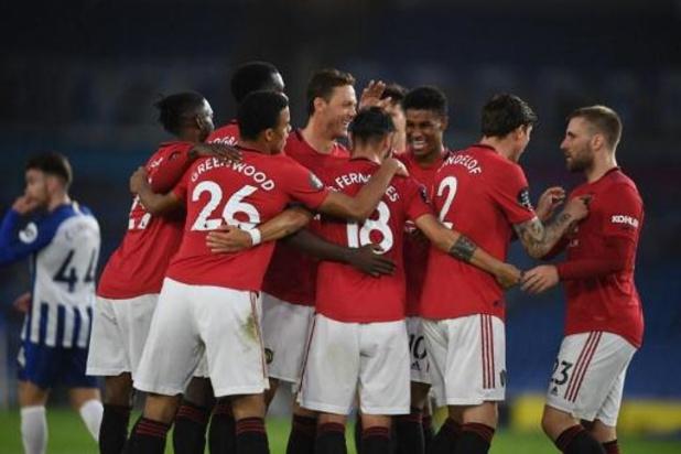 Les Belges à l'étranger - Manchester United facile vainqueur de Brighton et Trossard