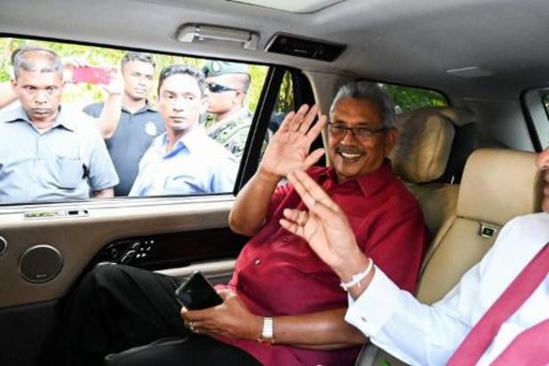 Sri Lanka : Rajapaksa élu président avec 52,25 % des voix