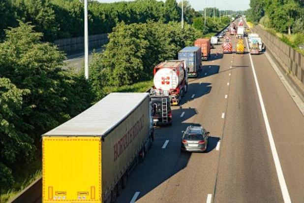 Afgelopen week 16,5 procent minder verkeer op Vlaamse snelwegen