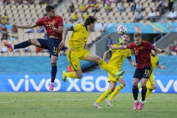 EK 2020 - Zweedse verdediger Lindelöf man van de match na gelijkspel tegen Spanje